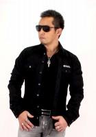 『Black Denim シャツ』