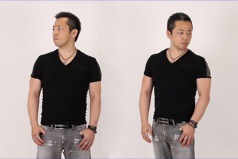 ラインTシャツ