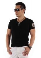 『01 サークルロゴ Tシャツ BLACK&GOLD』